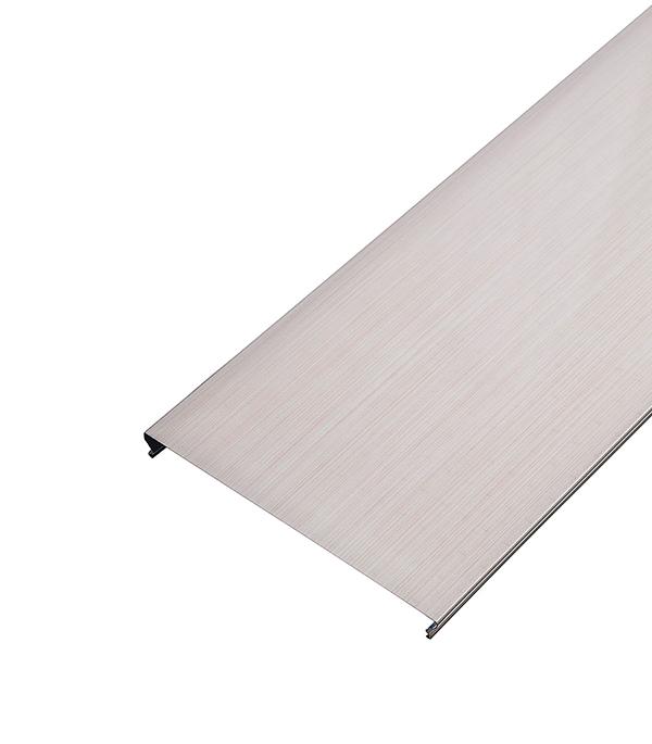 Реечный потолок для ванной комнаты 150AS 1.7х1.7 м комплект бледно розовый штрих на белом