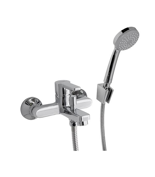 Смеситель для ванны и душа IDDIS SENA SENSB00i02 с коротким изливом однорычажный с лейкой смеситель для кухни iddis velikan ve2sbp0i05 однорычажный с вытяжной лейкой