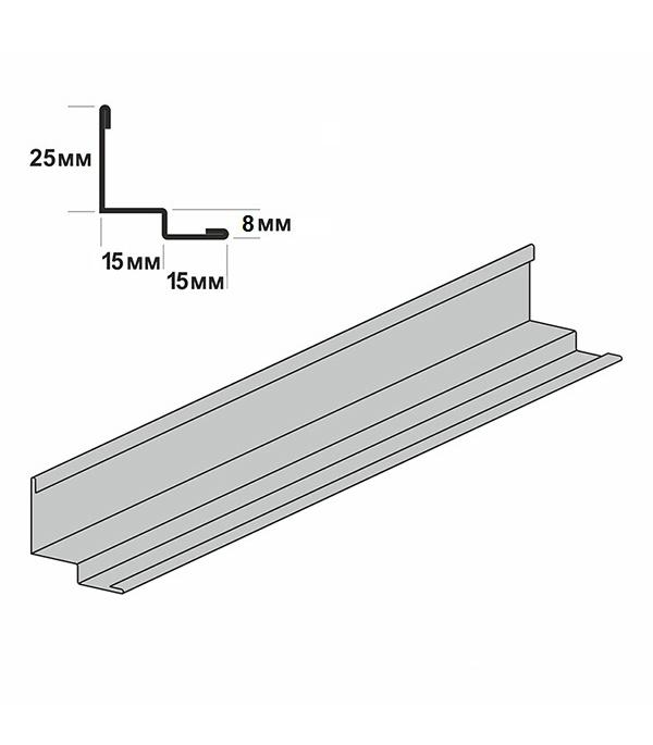 Купить Пристенный кант к подвесному потолку ARMSTRONG Prelude 25x15x3050 мм, Оцинкованная сталь