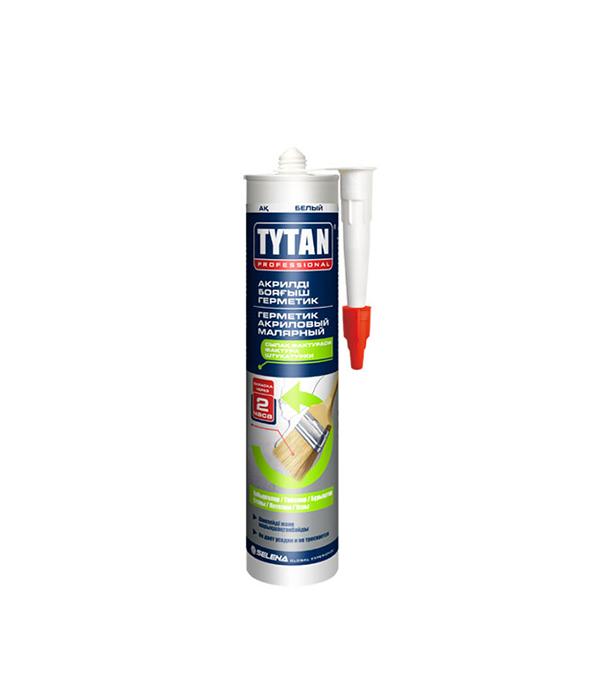 Герметик акриловый малярный Tytan 310 мл белый цена