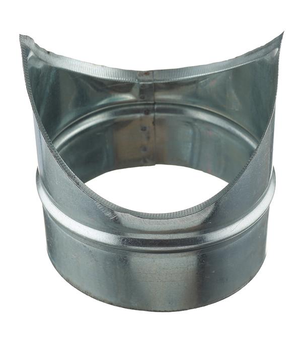 Врезка оцинкованная для круглых стальных воздуховодов d160х160 мм врезка оцинкованная для круглых стальных воздуховодов d200х200 мм