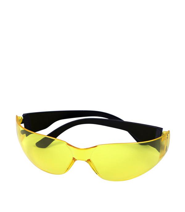 Очки защитные желтые Эконом аксессуар stabila lb очки для усиления видимости лазерного луча 07470