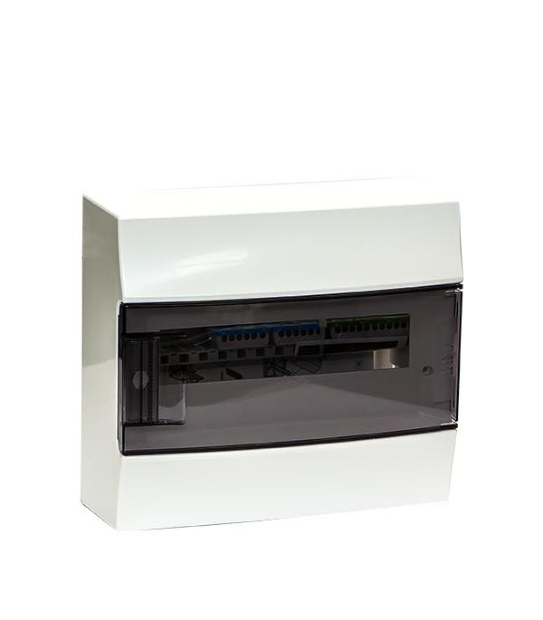 Щиток навесной ABB Mistral для 12 модулей пластиковый 262х297х119 мм IP41 щиток встраиваемый abb mistral для 24 модулей пластиковый 435х320х107 мм ip41