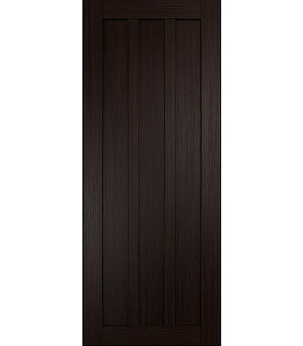 Дверное полотно экошпон Интери 3-0 венге 700х2000 мм глухое без притвора yuhuaze красота ящик для одежды темная ручка шкаф для шкафа дверная ручка раздвижная дверная ручка single single piece 64 pitch