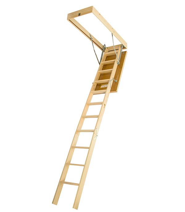 Лестница чердачная DSS Docke 60х120х280 см