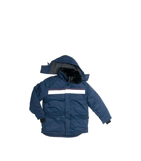 цена на Куртка утепленная темно-синяя АЛТАЙ, размер 48-50 (96-100), рост 170-176
