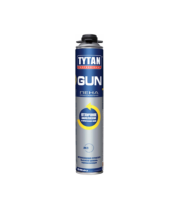 Пена монтажная Tytan O2 профессиональная 750 мл пена монтажная tytan o2 std 750 мл