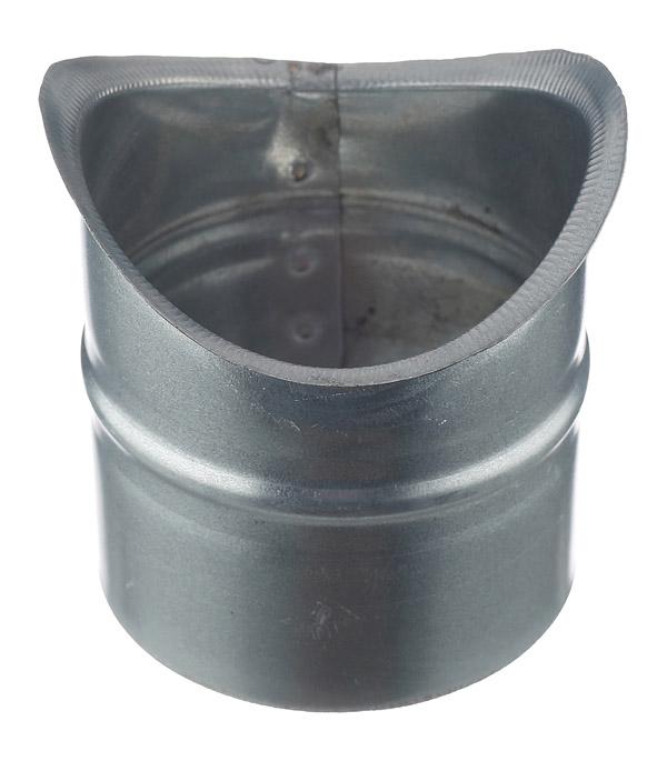 Врезка оцинкованная для круглых стальных воздуховодов d125х100 мм врезка оцинкованная для круглых стальных воздуховодов d200х200 мм