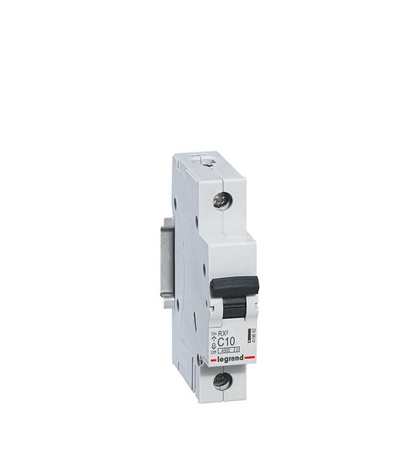 Автомат Legrand 1P 40А тип С 4.5 kA RX3 автомат 3p 63а тип с 6 ka abb s203