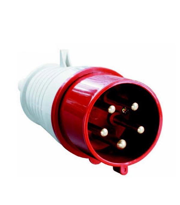 Вилка кабельная IEK 400В 3P+N+E 16А IP44 розетка кабельная iek 115 3p pe n