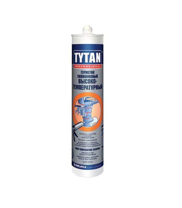 Купить Герметик силиконовый высокотемпературный Tytan 310 мл красный
