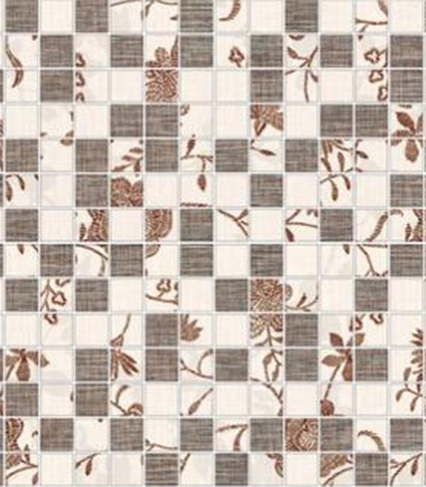 Мозаика керамическая Керамин Мишель 2 300х300х7,5мм на сетке цена