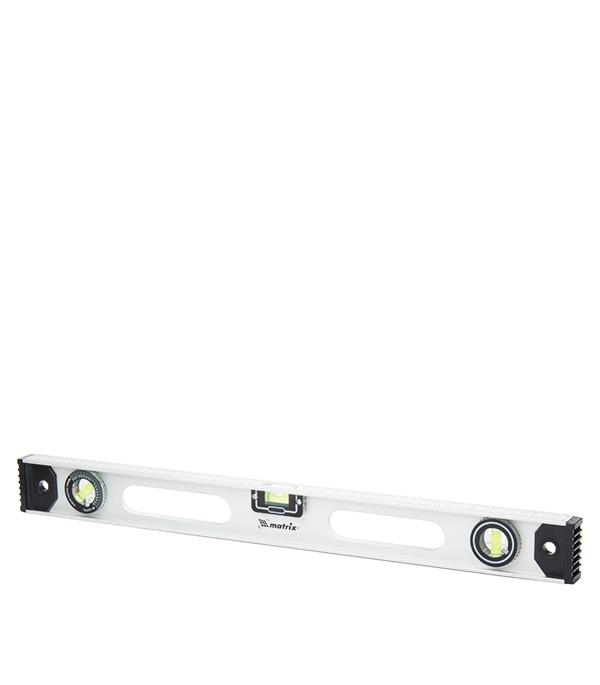 Уровень Matrix 60 см 3 глазка двутавровый алюминиевый уровень 800 мм matrix рельс 34026