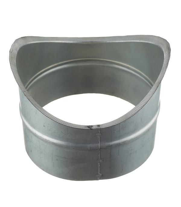 Врезка оцинкованная для круглых стальных воздуховодов d200х160 мм врезка оцинкованная для круглых стальных воздуховодов d200х200 мм