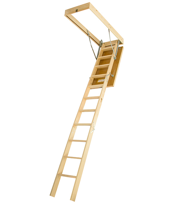 Лестница чердачная DSS Docke 70х120х280 см