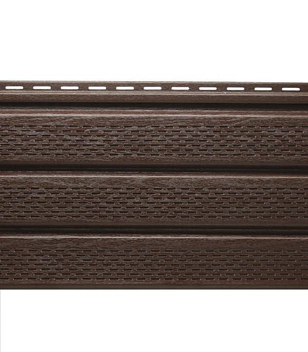 Сайдинг Vinyl-On софит перфорированный 3000х305 мм кофе сайдинг vinyl on планка финишная 3660 мм белая