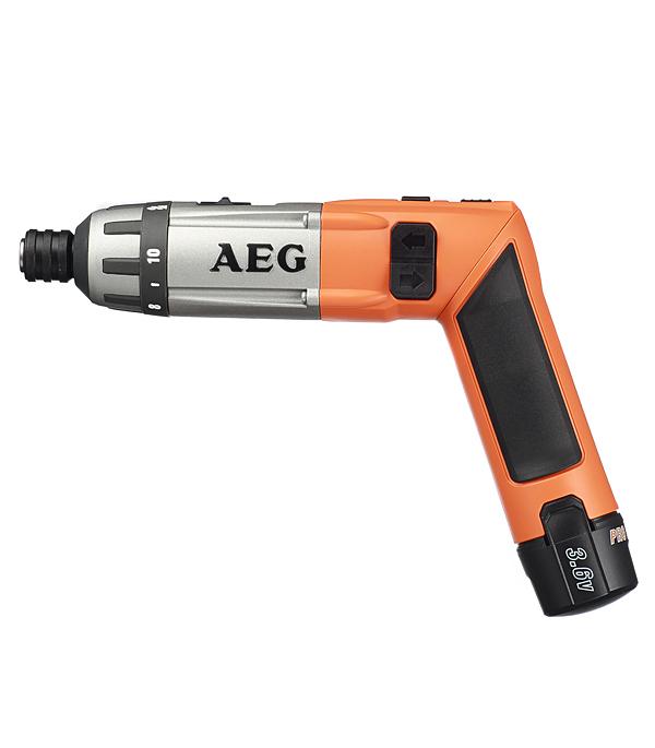 Отвертка аккумуляторная AEG SE 3.6 Li 3,6 В 1.5 Ач 6.5 Нм Li-Ion