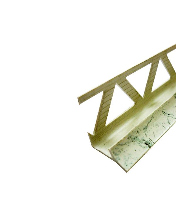 Уголок ПВХ для кафельной плитки внутренний 9х2500мм белый мрамор уголок пвх rico moulding 20х20х2700мм бук натуральный