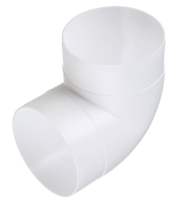 Колено для круглых воздуховодов пластиковое d100 мм 90° врезка оцинкованная для круглых стальных воздуховодов d125х100 мм