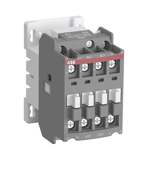 Контактор АВВ AX 25-30-10-80 25А AC3 с катушкой управления контактор dekraft 1но 1нз 25а 220в ас3 км 103 22118dek