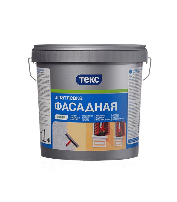 Шпаклевка фасадная Текс Профи акрилатная 5 кг