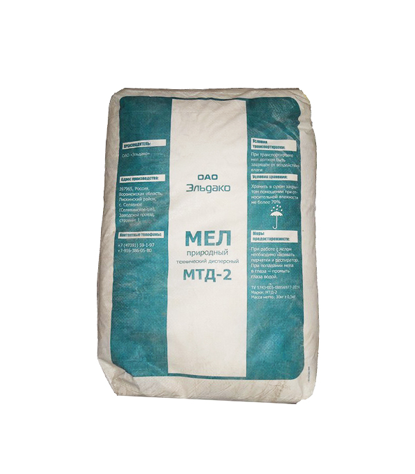 Мел МТД-2 Diana 30 кг мел белый 100 штук tz 7962