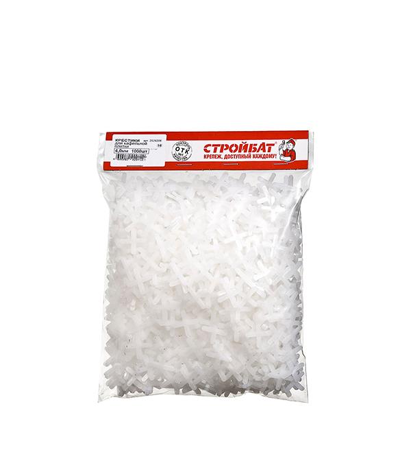 Купить Крестики для плитки 4.0 мм (1000 шт), Белый