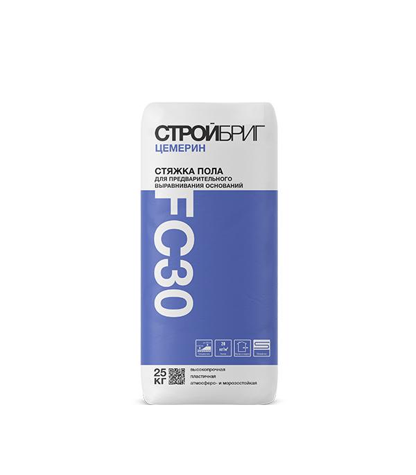 Купить Стяжка пола Стройбриг Цемерин FC30 для толстослойного выравнивания 25 кг