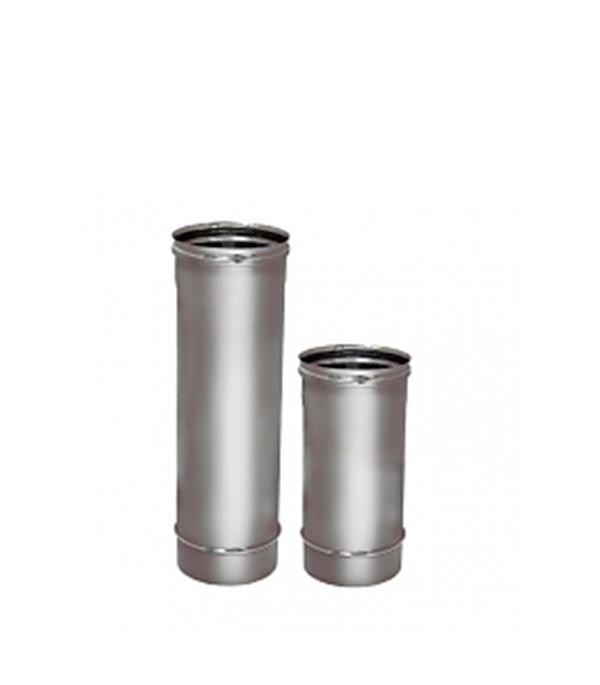 Труба Вулкан 500 мм 115 без изоляции на расширителе зеркальная 304