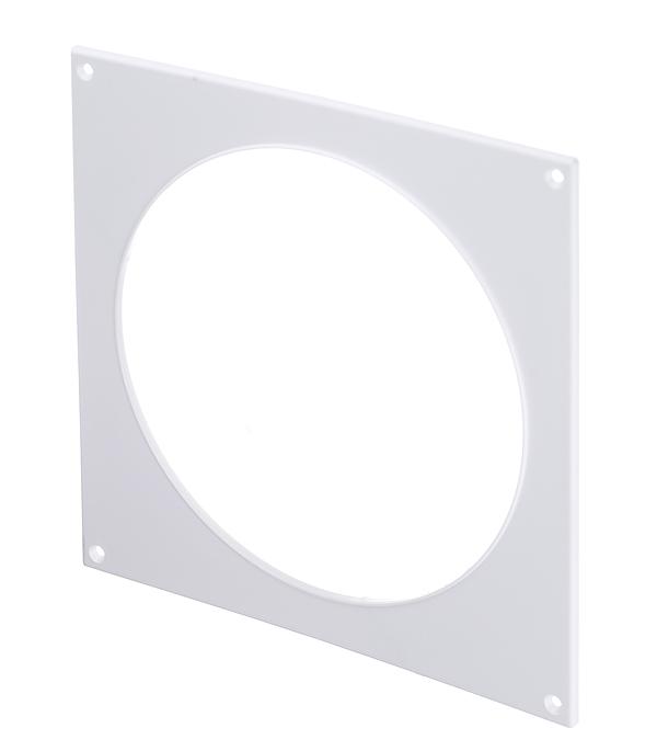 Накладка настенная для круглых воздуховодов пластиковая d160 мм врезка оцинкованная для круглых стальных воздуховодов d125х100 мм