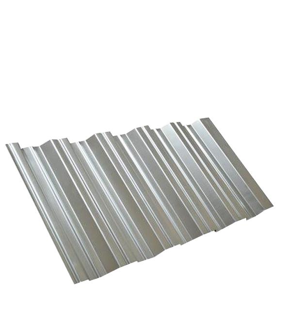 Купить Профнастил НС35 1.06х2.00 м толщина 0.5 мм оцинкованный, Оцинкованный