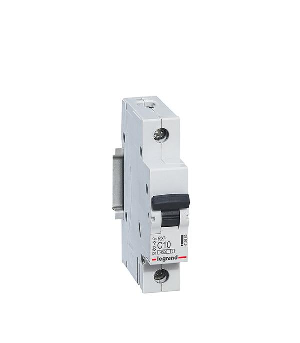Автомат Legrand 1P 50А тип С 4.5 kA RX3 автомат 3p 63а тип с 6 ka abb s203