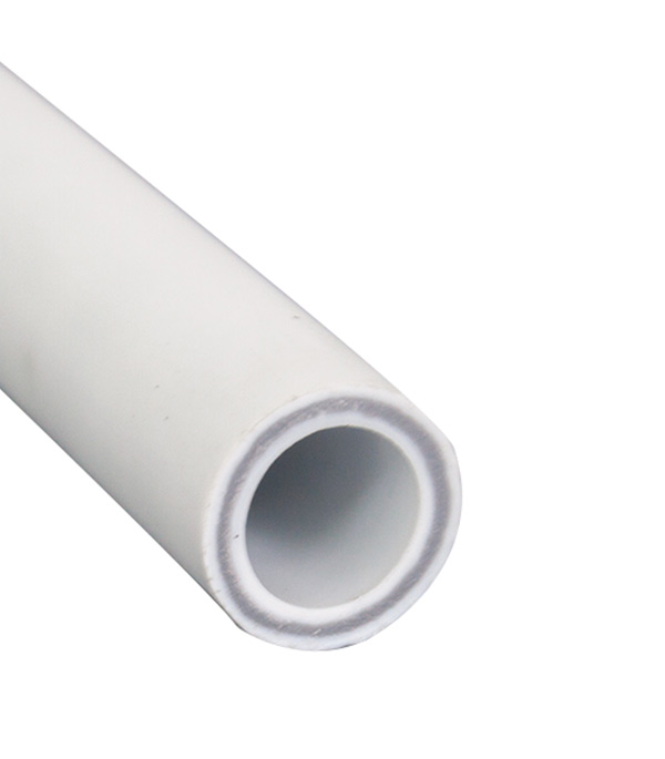Купить Труба полипропиленовая, армированная стекловолокном 32х4000 мм, PN 25, РТП, Белый