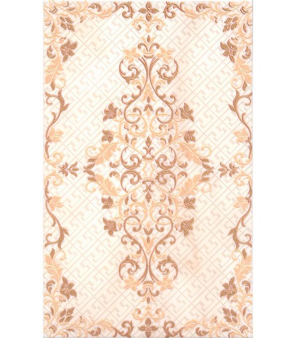 Плитка декор 250х400х8 мм Сомерсет орнамент бежевый декор kerama marazzi фраскати ar81 12026 25x75