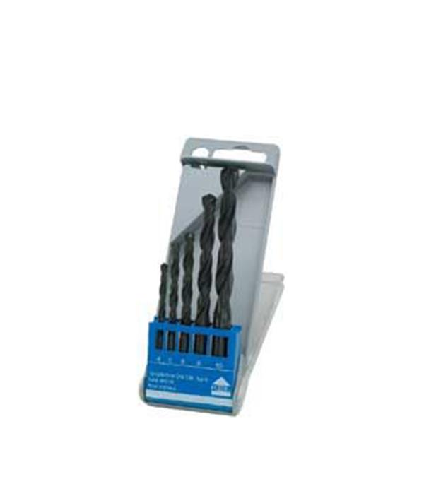 Сверло по металлу Keil HSS 4-10 мм набор (5 шт) 3 шт лот hss стали большой шаг конуса с титановым покрытием сверло металл cut набор инструментов отверстие cutter 4 12 20 32 мм о