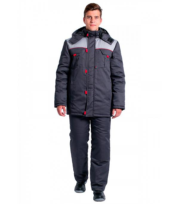 Куртка зимняя Delta Plus Фаворит размер 52-54 рост 182-188 темно-серый цвет куртка зимняя delta plus фаворит размер 56 58 рост 182 188