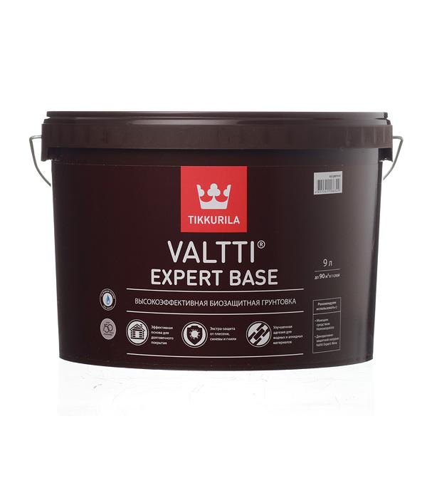 Купить Антисептик грунтовочный Valtti Expert Base 9 л, Tikkurila, Бесцветный