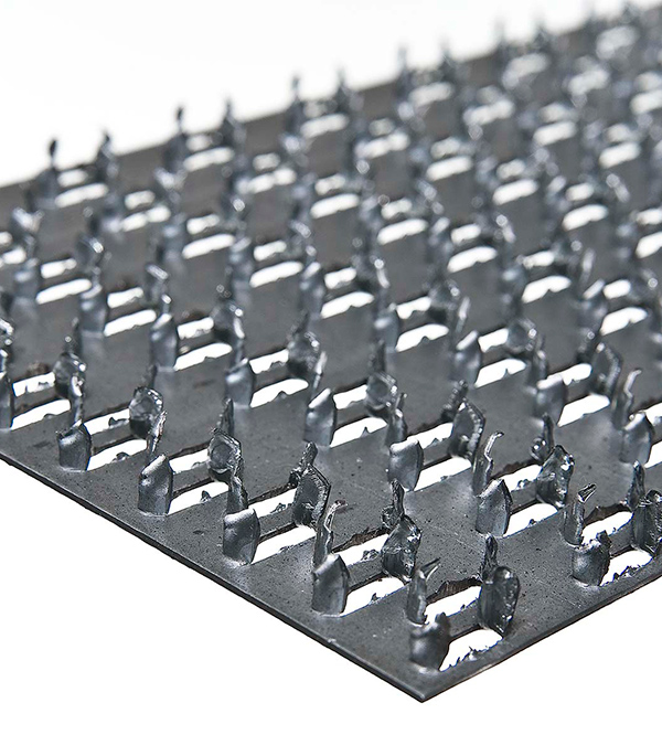 Купить Пластина гвоздевая оцинкованная 129х102х1.0 мм
