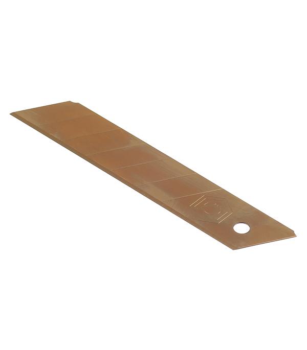 Лезвие для ножа Armero прямое титановое покрытие 25 мм (5 шт) лезвие для ножа armero ar12 119