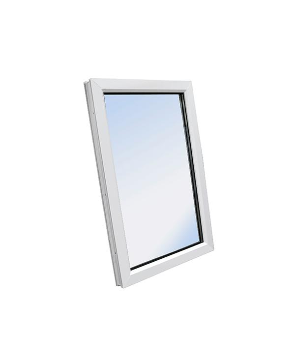 Окно ПВХ WHS 1160х800 мм белое глухое