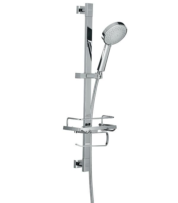 Душевой гарнитур IDDIS TSH1601 со стойкой 760мм лейкой D120мм 5F c мыльницей цена