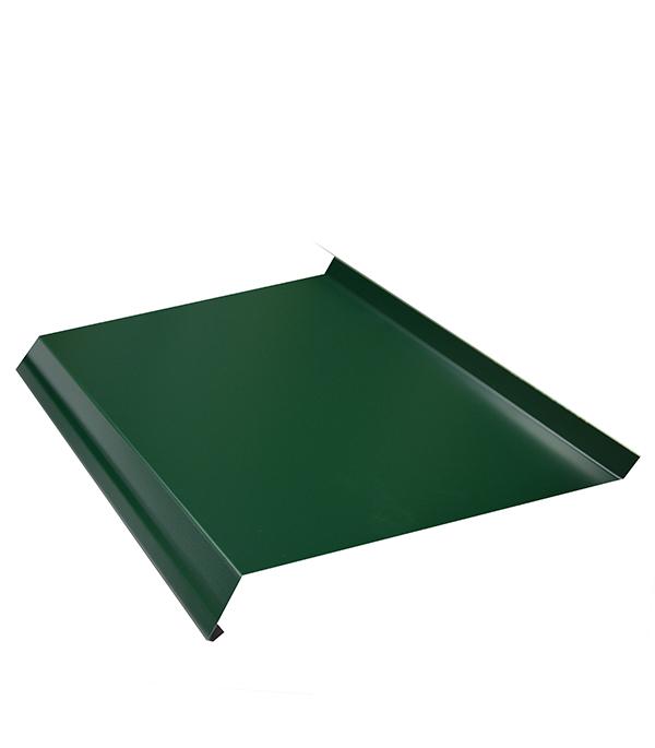 Отлив 100х2000 мм зеленый RAL6005 отлив белый 100х2000 мм ral9003
