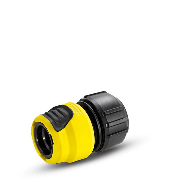 Коннектор универсальный Karcher Plus с аквастопом коннектор karcher 1 2 3 4 универсальный