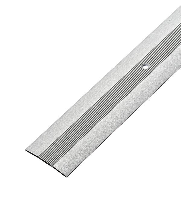Порог стыкоперекрывающий 40х1800 мм Серебро