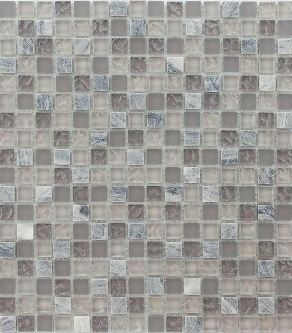 Мозаика из стекла и камня 305x305x4 мм Sitka