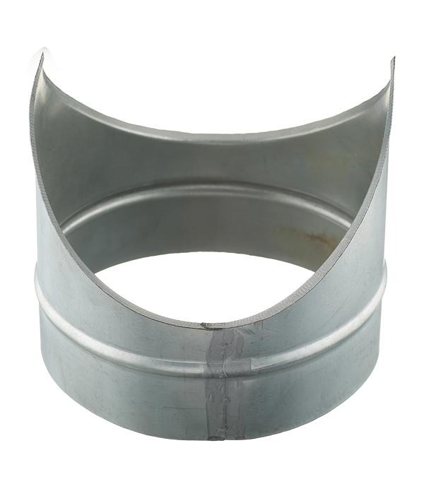 Врезка оцинкованная для круглых стальных воздуховодов d200х200 мм врезка круглая 200 200