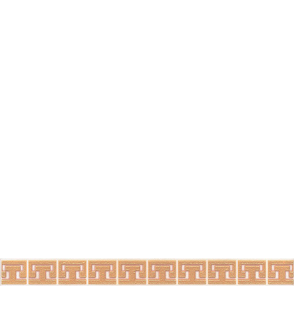 Фото - Плитка бордюр 250х23х8 мм Сомерсет орнамент бежевый бордюр kerama marazzi виченца багет коричневый темный 3x15