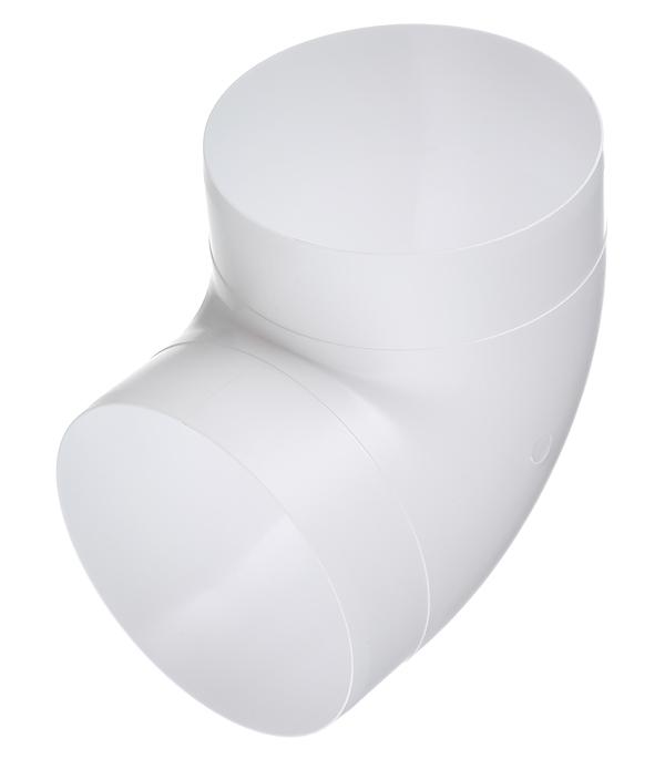 Колено для круглых воздуховодов пластиковое d125 мм 90° врезка оцинкованная для круглых стальных воздуховодов d125х100 мм