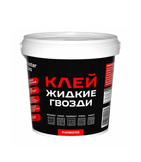 Жидкие гвозди MasterTeks экстрасильный 1,5 кг жидкие гвозди masterteks pm акриловый экстрасильный 7 2кг бе