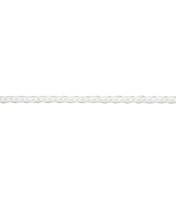Плетеный шнур Белстройбат полипропиленовый белый d2.5 мм 50 м